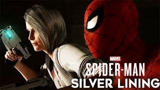 SPIDER-MAN PS4 DLC SILVER LINING All Cutscenes (Game Movie) 1080p HD