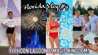 DISNEY'S WATER PARKS, OUTLET SHOPPING & MAGIC KINGDOM FIREWORKS!