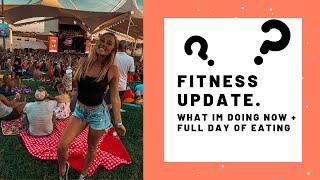 FITNESS UPDATE! Do I Ever Want to Compete? Full Day of Eating.