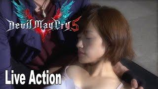 Devil May Cry 5 - All Live Action Cutscenes The Movie [HD 1080P]