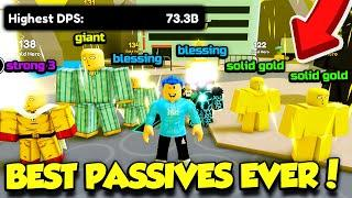 I Bought Passives For HOURS To Get These INSANE FIGHTERS In Anime Fighters Simulator! (Roblox)