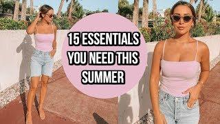 15 BEAUTY & STYLE ESSENTIALS YOU NEED THIS SUMMER! ALEXANDREA GARZA