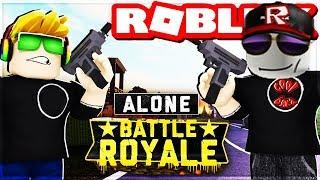ALONE BATTLE ROYALE | SURVIVE ON THE DEADLY ISLAND in ROBLOX | PUBG FOR KIDS РОБЛОКС roleplay