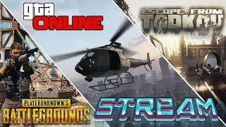 Чилл стрим. PUBG (Пубг), GTA 5 (ГТА 5), Escape from tarkov и др. 18+ Стрим от Бобра