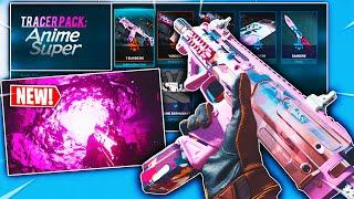 the NEW TRACER PACK ANIME SUPER IN MODERN WARFARE! SHOWCASE (NEW PINK TRACER FIRE + ANIME WEAPONS)