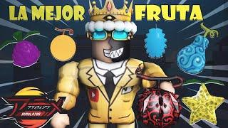 LA MEJOR FRUTA DE ANIME FIGHTING SIMULATOR ROBLOX *DEVIL FRUIT* DIMENSION 5