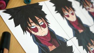 Drawing DABI in 9 Different Anime Styles
