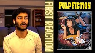Watching Pulp Fiction (1994) FOR THE FIRST TIME!! (Movie Reaction!)
