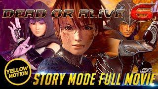 DEAD OR ALIVE 6 | Story Mode Full Movie All Cutscenes PS4 Pro