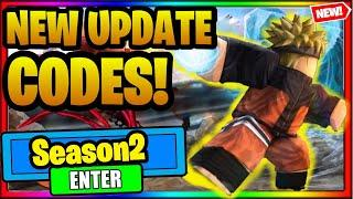 ⚔️ALL NEW *SEASON 2* UPDATE CODES for Anime Fighting Simulator (Anime Fighting Simulator Codes)