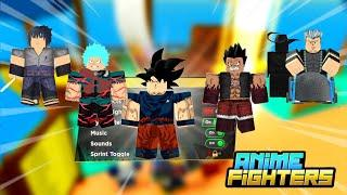 Crafting Anime Fighters but this Happens | Noob to Pro!? | Roblox Anime Fighters Simulator