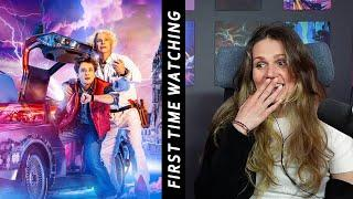 Back to the Future (1985) Movie REACTION FIRST TIME WATCHING