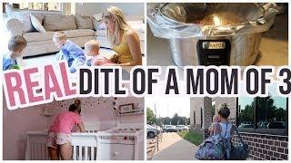 THIS IS REAL LIFE AS A STAY AT HOME MOM  //BUSY SAHM DITL  // BEAUTY AND THE BEASTONS