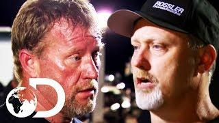 Big Fist Fight Before A Drag Race   Street Outlaws