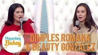 The reason why Dimples and Beauty are not staying in the same tent on their set | Magandang Buhay
