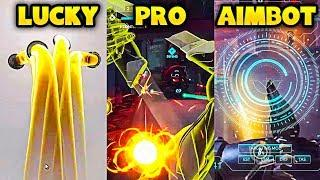 LUCKY vs PRO vs AIMBOT - Overwatch Pro + Funny Moments #23