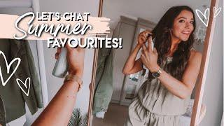 WARDROBE MUST HAVES, BEST IN BEAUTY & LIFESTYLE LOVES   Summer 2019 Favourites