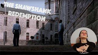 FIRST TIME WATCHING SHAWSHANK REDEMPTION movie Commentary