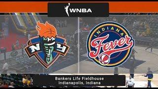 Indiana Fever vs New York Liberty WNBA Game Highlights 6 1 2019