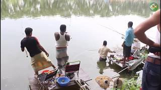 Hunting And Fishing | Catla Fishing Videos In Bangladesh | Fishing With Hook By Tangail