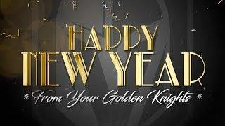 Happy New Year from your Golden Knights!