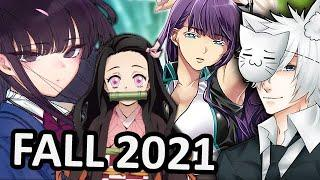 Fall 2021 Anime Season: What Will I Be Watching?