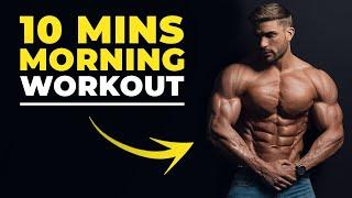 10 MIN MORNING WORKOUT | BODYWEIGHT ONLY | Men's Fitness 2019