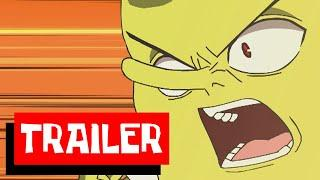SpongeBob Anime Trailer ENGLISH DUB
