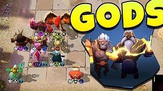 ARE GODS GOOD in AUTO CHESS MOBILE?