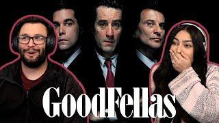 GoodFellas (1990) First Time Watching! Movie Reaction!!