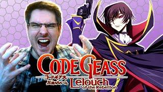 CODE GEASS Opening 1-5 REACTION | Anime OP Reaction