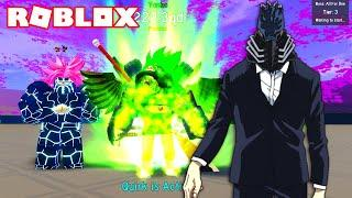 FULL COMBATES CONTRA EL BOSS ALL FOR ONE en ANIME FIGHTING SIMULATOR de ROBLOX
