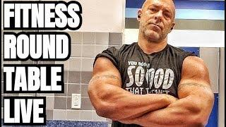 Fitness Round Table Live with Damn Serenity and Swolenormous