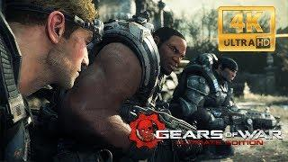GEARS OF WAR: ULTIMATE EDITION 4K All Cutscenes (Game Movie) Ultra HD