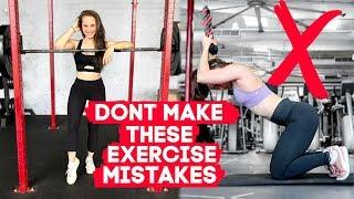7 BIGGEST WORKOUT MISTAKES | Beginner Exercise Tips + Fitness Motivation