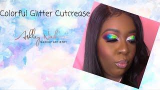 Ashley Nadine| Glitter Glam Cut Crease