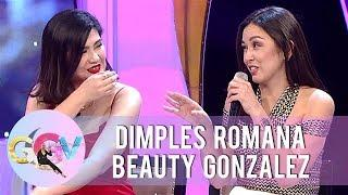 Dimples and Beauty react to Kadenang Ginto Bloopers   GGV