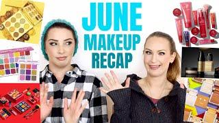 June makeup recap & channel update - BEAUTY NEWS