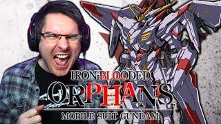 MOBILE SUIT GUNDAM IRON BLOODED ORPHANS Openings 1-4 REACTION | Anime OP Reaction