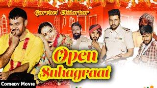 Open Suhagraat | Gurchet Chitarkar | New Punjabi comedy  | New Punjabi Movie 2020