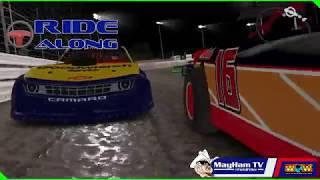 iRacing Recap: Knoxville - War of the Worlds Street Stock Series (S1-R8 2019)