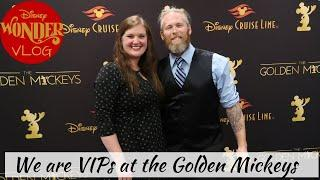 Disney Wonder | We are VIPs at the Golden Mickeys!!! | Cruise Vlog
