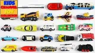 City Vehicles For Kids Children Babies Toddlers   Garbage Truck Taxi Bus   Kids Learning Video