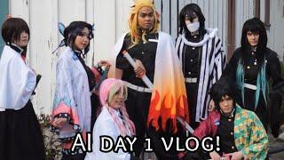 [UchihaHotline] Demon Slayer Hashira @ Anime Impulse '20! (Day 1 Vlog)