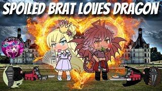Spoiled Brat Gacha Princess Falls In Love With Dragon|GLMM|Gacha Life Mini Movie