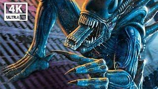 ALIENS VS PREDATOR All Cutscenes (Aliens Edition) Game Movie 4k 60FPS
