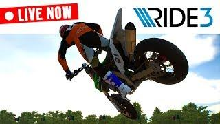 RIDE 3 - Let's Test Some Bikes! - Career Gameplay EP1