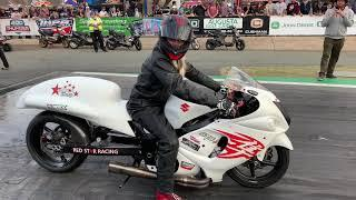 SNEAKY 400 HORSEPOWER HAYABUSA STREET BIKES DRAG RACE IN AUSTRALIA! TURBO NITROUS DRAG BIKE BATTLE!
