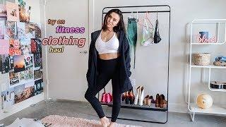 Try On Fitness Clothing Haul!