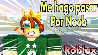 ME HAGO PASAR POR NOOB EN ANIME FIGHTING SIMULATOR ROBLOX PARA MATAR ABUSADORES *ROBLOX SIMULATOR*